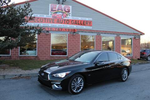 2019 Infiniti Q50 for sale at EXECUTIVE AUTO GALLERY INC in Walnutport PA