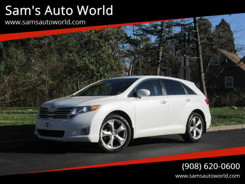 2011 Toyota Venza for sale at Sam's Auto World in Roselle NJ