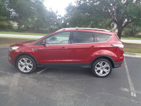 2017 Ford Escape for sale at BALKCUM AUTO INC in Wilmington NC