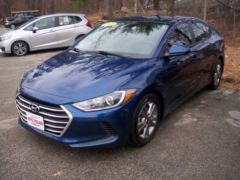 2017 Hyundai Elantra for sale at Charlies Auto Village in Pelham NH