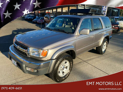 2002 Toyota 4Runner for sale at EMT MOTORS LLC in Portland OR