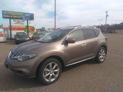 2014 Nissan Murano for sale at Pepp Motors in Marquette MI
