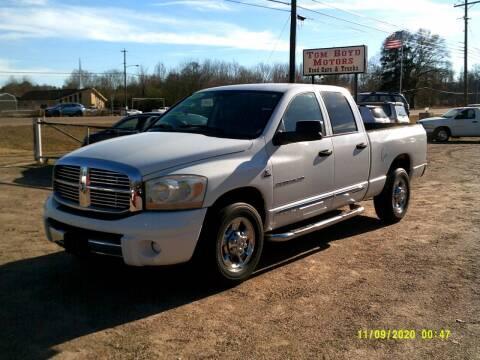 2006 Dodge Ram Pickup 3500 for sale at Tom Boyd Motors in Texarkana TX