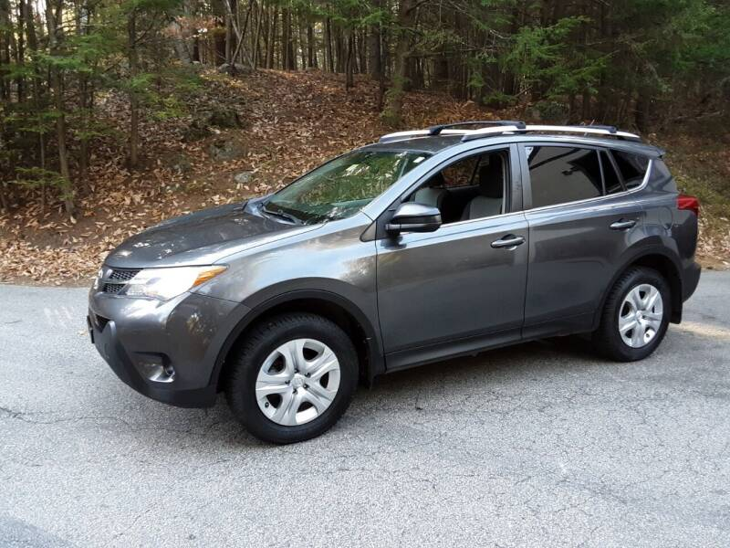 2013 Toyota RAV4 for sale at H P M Sales in Goffstown NH