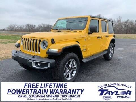 2020 Jeep Wrangler Unlimited for sale at Taylor Automotive in Martin TN