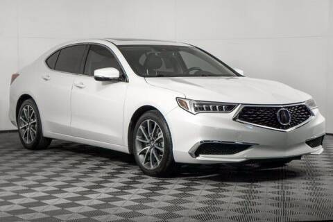 2018 Acura TLX for sale at Washington Auto Credit in Puyallup WA