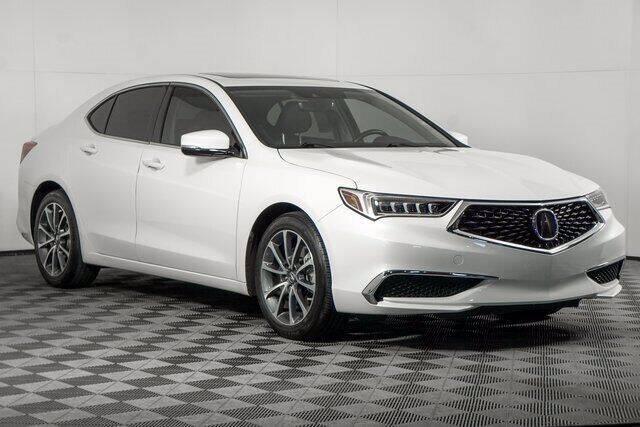 2018 Acura TLX for sale at Washington Auto Credit in Puyallup WA