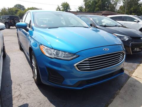 2019 Ford Fusion for sale at RS Motors in Falconer NY