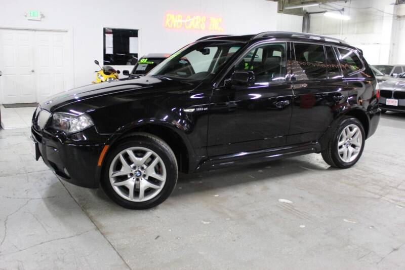 2008 BMW X3 for sale at R n B Cars Inc. in Denver CO