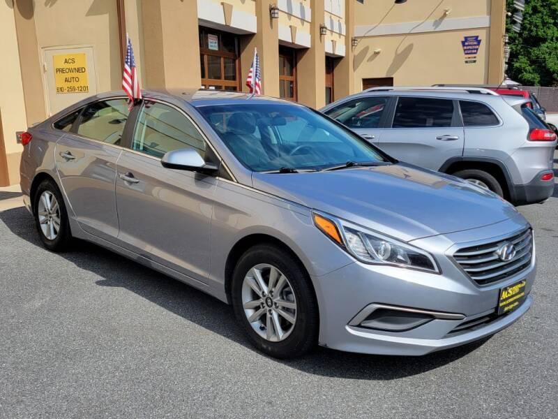 2016 Hyundai Sonata for sale at ACS Preowned Auto in Lansdowne PA
