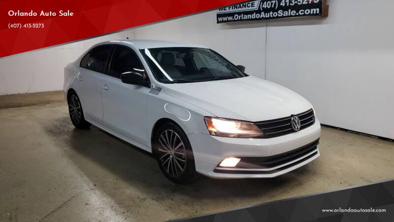 2016 Volkswagen Jetta for sale at Orlando Auto Sale in Orlando FL