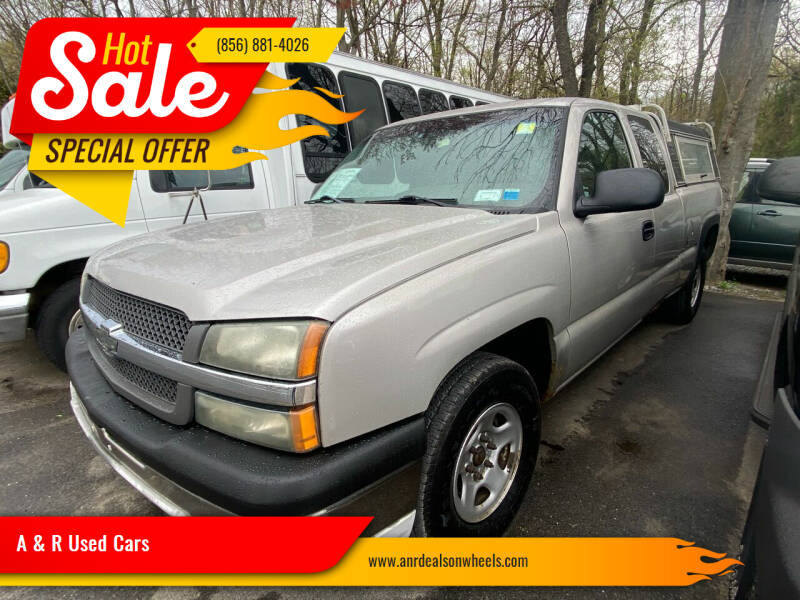 2004 Chevrolet Silverado 1500 for sale at A & R Used Cars in Clayton NJ