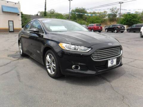 2016 Ford Fusion Energi for sale at Platinum Auto Sales in Provo UT