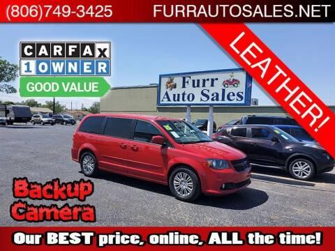 2015 Dodge Grand Caravan for sale at FURR AUTO SALES in Lubbock TX