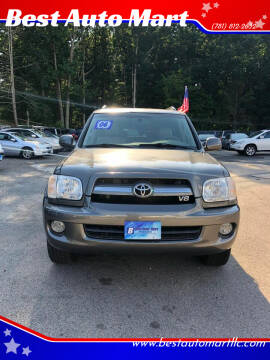 2006 Toyota Sequoia for sale at Best Auto Mart in Weymouth MA