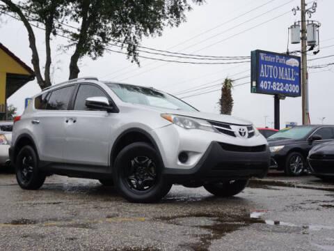2015 Toyota RAV4 for sale at Winter Park Auto Mall in Orlando FL