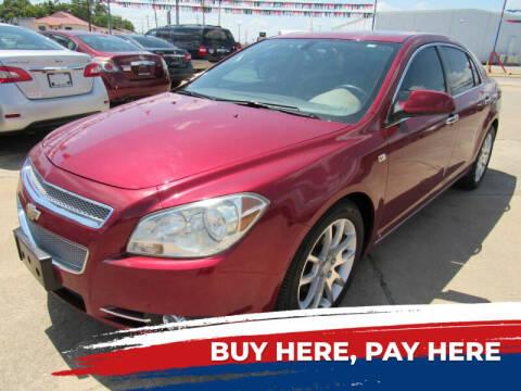 2008 Chevrolet Malibu for sale at Classic Auto Brokers in Haltom City TX