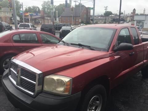 2007 Dodge Dakota for sale at Carlisle Cars in Chillicothe OH