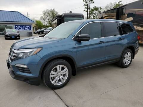 2016 Honda Pilot for sale at Kell Auto Sales, Inc - Grace Street in Wichita Falls TX