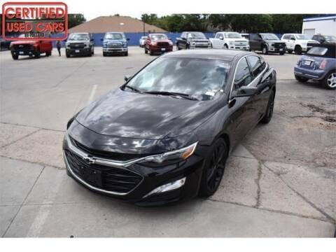 2021 Chevrolet Malibu for sale at South Plains Autoplex by RANDY BUCHANAN in Lubbock TX