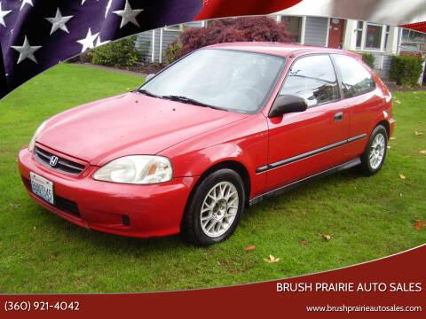 2000 Honda Civic for sale at Brush Prairie Auto Sales in Battle Ground WA