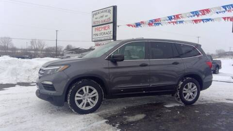 2016 Honda Pilot for sale at Premier Auto Sales Inc. in Big Rapids MI