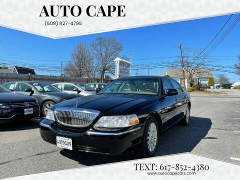 2003 Lincoln Town Car for sale at Auto Cape in Hyannis MA
