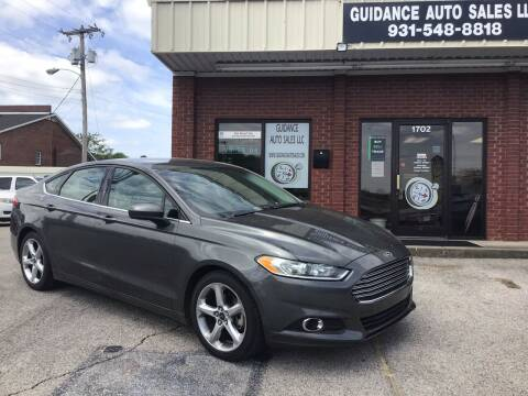 2016 Ford Fusion for sale at Guidance Auto Sales LLC in Columbia TN