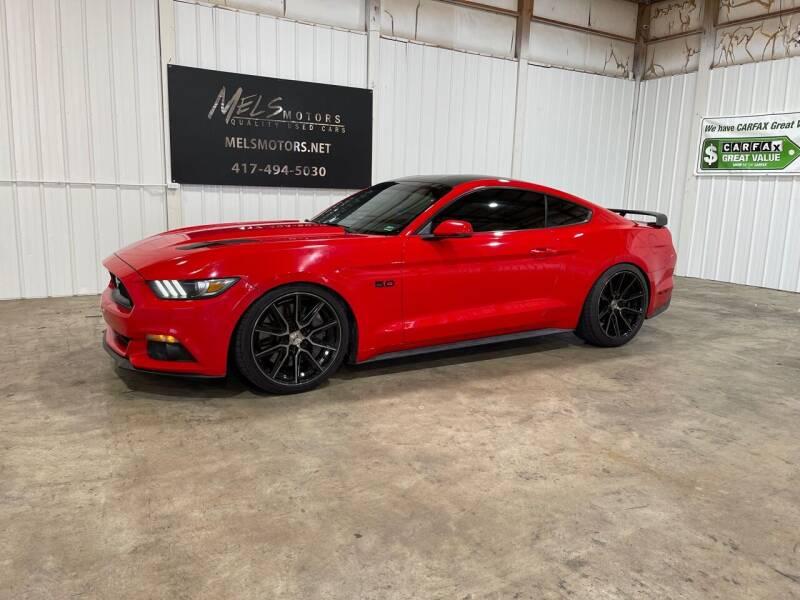 2015 Ford Mustang for sale at Mel's Motors in Nixa MO