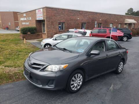 2012 Toyota Corolla for sale at ARA Auto Sales in Winston-Salem NC