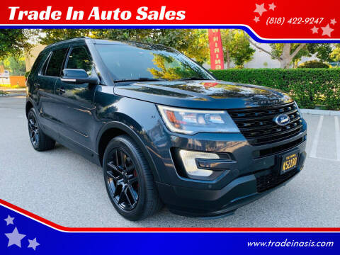 2017 Ford Explorer for sale at Trade In Auto Sales in Van Nuys CA