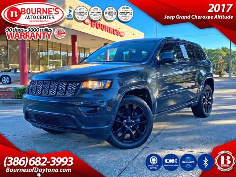 2017 Jeep Grand Cherokee for sale at Bourne's Auto Center in Daytona Beach FL