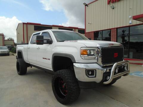 2015 GMC Sierra 2500HD for sale at Premier Foreign Domestic Cars in Houston TX