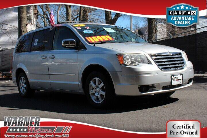 2010 Chrysler Town and Country for sale at Warner Motors in East Orange NJ