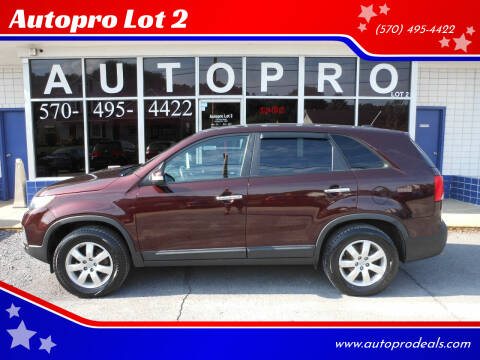 2013 Kia Sorento for sale at Autopro Lot 2 in Sunbury PA