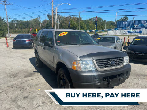 2004 Ford Explorer for sale at I57 Group Auto Sales in Country Club Hills IL