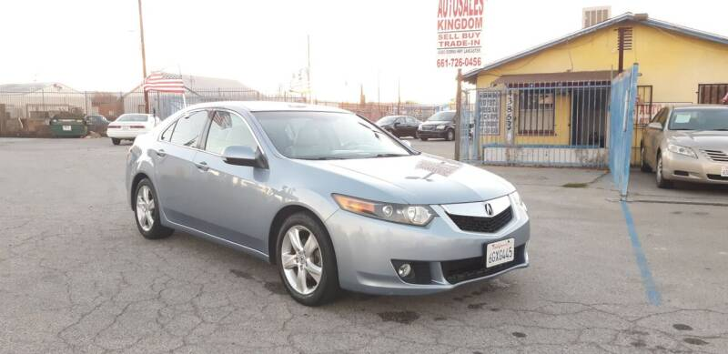 2009 Acura TSX for sale at Autosales Kingdom in Lancaster CA