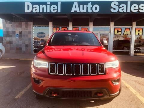 2017 Jeep Grand Cherokee for sale at Daniel Auto Sales inc in Clinton Township MI
