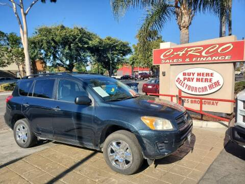 2010 Toyota RAV4 for sale at CARCO SALES & FINANCE in Chula Vista CA