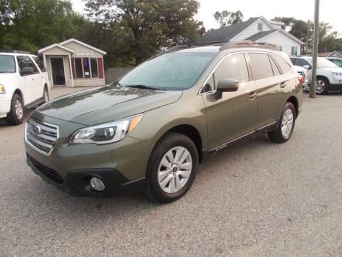 2017 Subaru Outback for sale at Jenison Auto Sales in Jenison MI