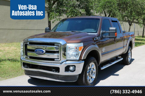 2011 Ford F-350 Super Duty for sale at Ven-Usa Autosales Inc in Miami FL