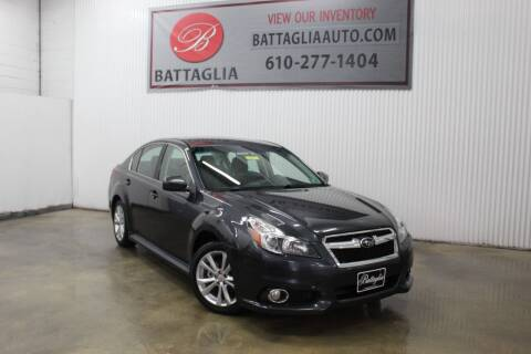 2013 Subaru Legacy for sale at Battaglia Auto Sales in Plymouth Meeting PA