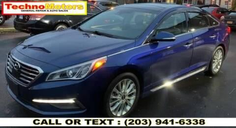 2015 Hyundai Sonata for sale at Techno Motors in Danbury CT