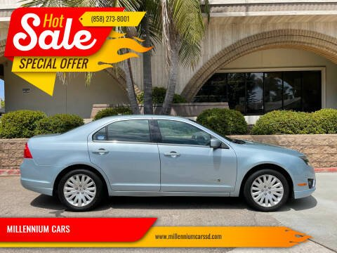2010 Ford Fusion Hybrid for sale at MILLENNIUM CARS in San Diego CA