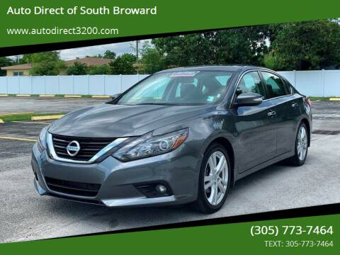 2017 Nissan Altima for sale at Auto Direct of South Broward in Miramar FL