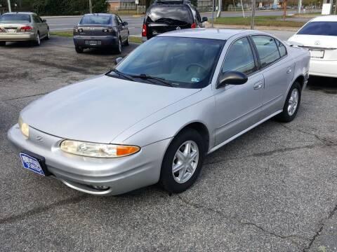 2002 Oldsmobile Alero for sale at Premier Auto Sales Inc. in Newport News VA