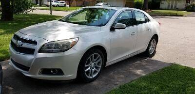 2013 Chevrolet Malibu for sale at North Loop West Auto Sales in Houston TX