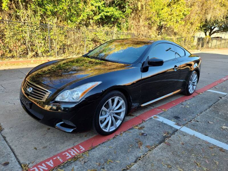 2009 Infiniti G37 Coupe for sale at DFW Autohaus in Dallas TX