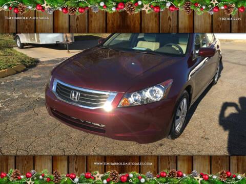 2010 Honda Accord for sale at Tim Harrold Auto Sales in Wilkesboro NC