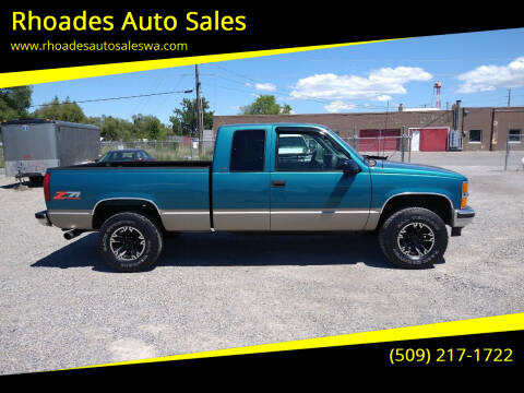 1998 Chevrolet C/K 1500 Series for sale at Rhoades Auto Sales in Spokane Valley WA